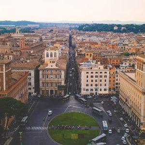 Straßenverkehr in Italien