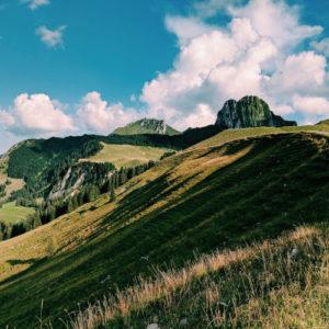 Landschaft in der Schweiz