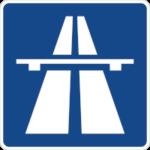 Verkehrszeichen: Autobahn